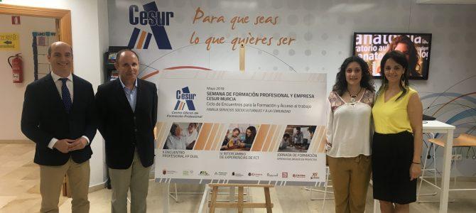 IV ENCUENTRO DE INTERCAMBIO DE EXPEREINCIAS DE FCT #CesurMurcia