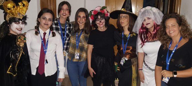 Los alumnos de 2º de FP CESUR preparan una Scape Room sorpresa a los alumnos de 1º en Halloween