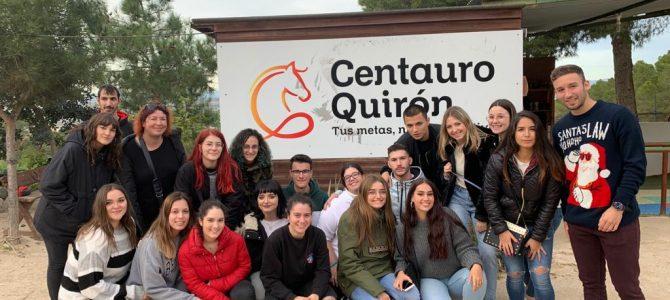 Visita a la Fundación Centauro Quirón